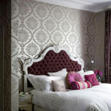 Giấy dán tường cho phòng ngủ mùa xuân